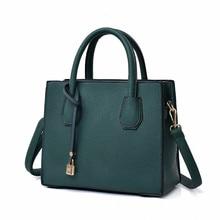 2019 Fashion Litchi Pattern Leather Handbags Women Casual To
