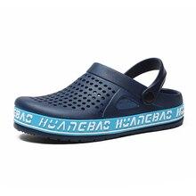 2019 Summer Mens Clogs Sandals EVA Lightweight Beach Slippers For Men Women Unisex Garden Clog Shoes  Adulto Couple Shoes
