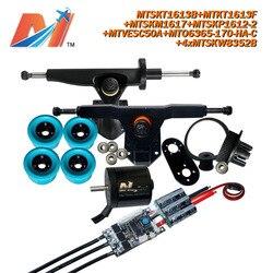 Maytech (10pcs) skateboard 6365 170KV motor and eletric skate SuperEsc based on vesc and electric longboard part pulley truck