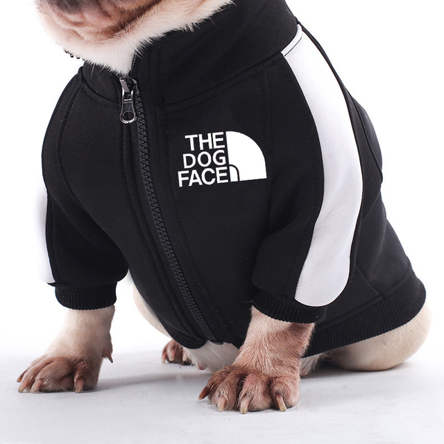 Dog Face Branded Zipped Jacket 2