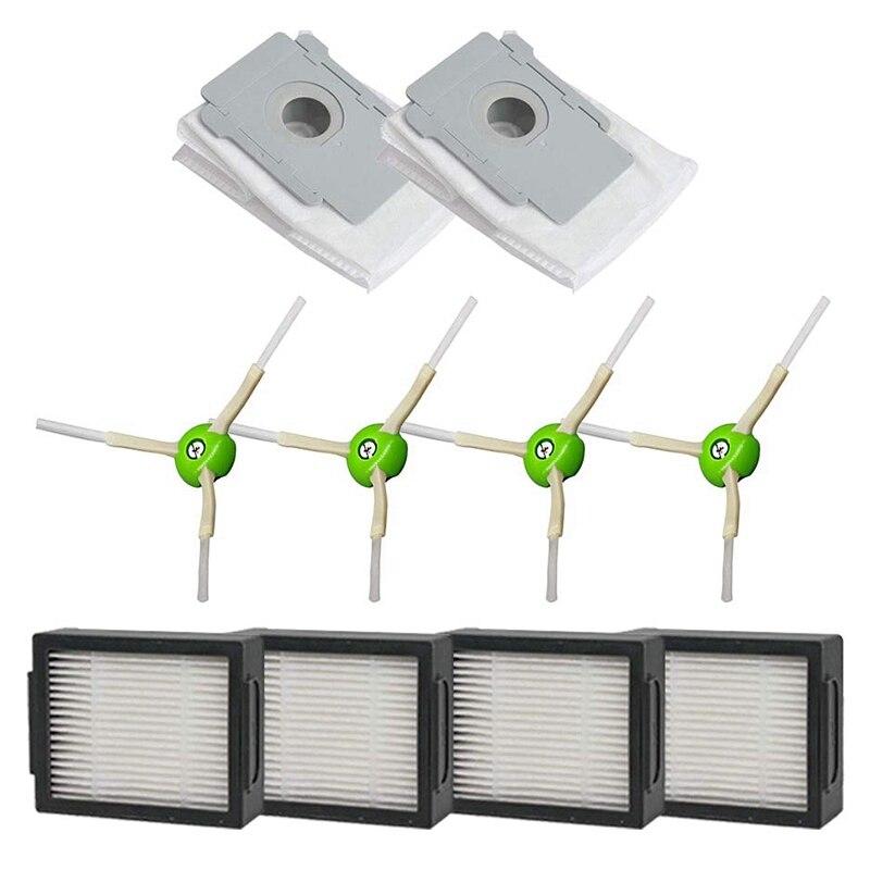 B-Life 12 Pack Replacement roomba i7 Parts Filters,Compatible for iRoboy Roomba i7 i7+//i7 Plus E5 E6 E7 Replenishment Kits
