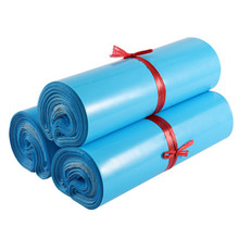 50Pcs Courier Bags Blue Self-Seal Adhesive Storage Bag Package Bag Waterproof 12Wires Envelope Mailer Poly Postal Mailing Bags