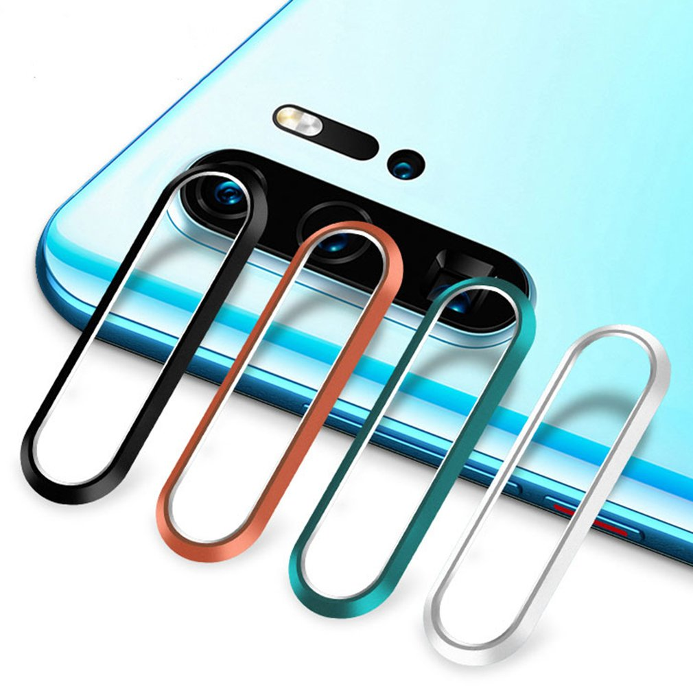 Aluminum Rear <font><b>Camera</b></font> Lens Metal Protector Protection Ring For Huawei P30 Pro P30Pro Case Mobile <font><b>Phone</b></font> <font><b>Accessories</b></font> image