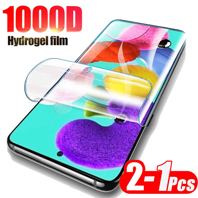 Hydrogel Film Voor Samsung A20 E A30 A40 A50 A70 A10 Volledige Cover Screen Protector Film Voor Samsung A51 A71 a51 A71 51 71 Niet Glas