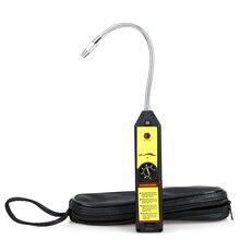 WJL-6000 Freon Leak Detector Halogen Leak Detector Refrigerant Gas HVAC R22 R410A R134A R1234YF CFCs HCFC Detector High Accuracy