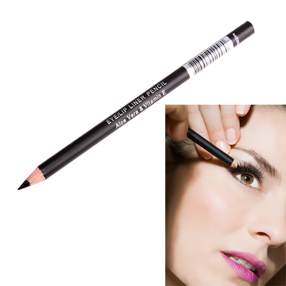 Waterproof Black Eyeliner Pencil Eye Liner Makeup Tool Cosmetic Pen  FO Sale