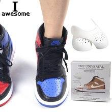 Dropshipping sapatos escudo para sapatilha anti vinco enrugado crack sapato suporte toe boné esporte sapato cabeça maca shaper keeper