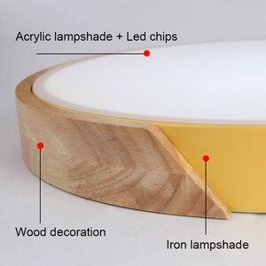 Image 5 - 5 センチメートル超薄型ledシーリングライトリビングルームの照明用調光可能な現代天井ランプ北欧ベッドルームキッズルームplafonnier led