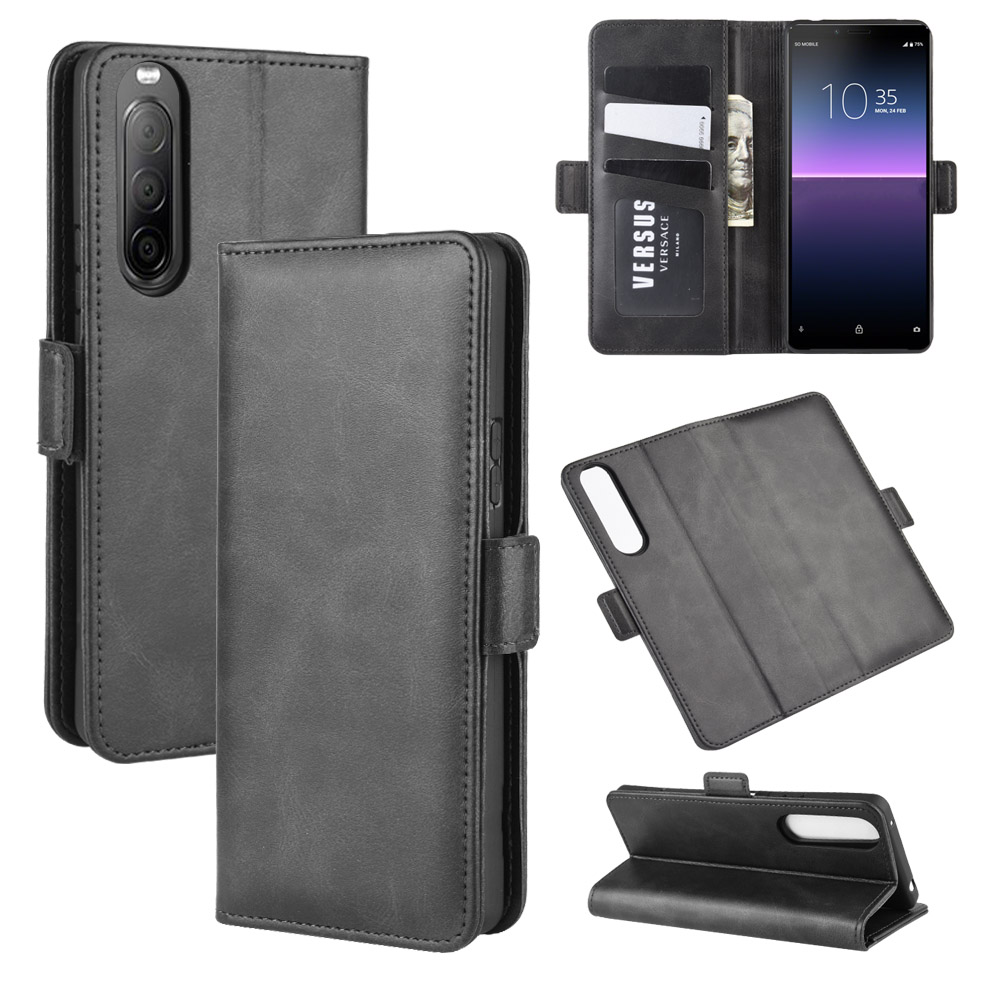 <font><b>Case</b></font> For <font><b>Sony</b></font> <font><b>Xperia</b></font> <font><b>10</b></font> II Leather Wallet Flip <font><b>Cover</b></font> Vintage Magnet Phone <font><b>Case</b></font> For <font><b>Sony</b></font> <font><b>10</b></font> II Coque image