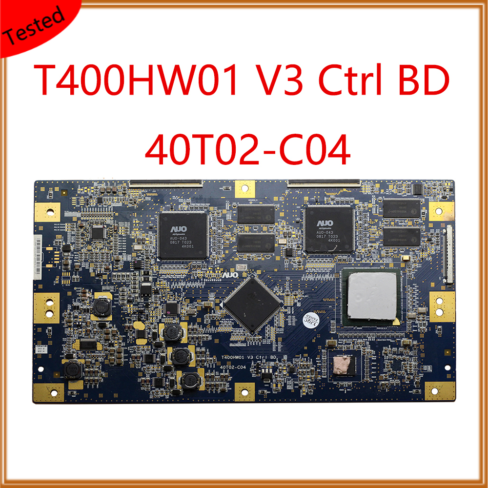 Practical T400hw01 V3 Ctrl Bd 40t02-c04 T-con Board For Sony Kdl-46z4100 Plate Display Card Original T Con Board T400hw01 V3 40t02-c04 Easy And Simple To Handle