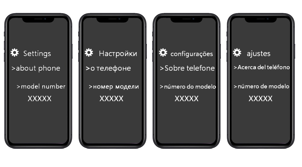 check phone model