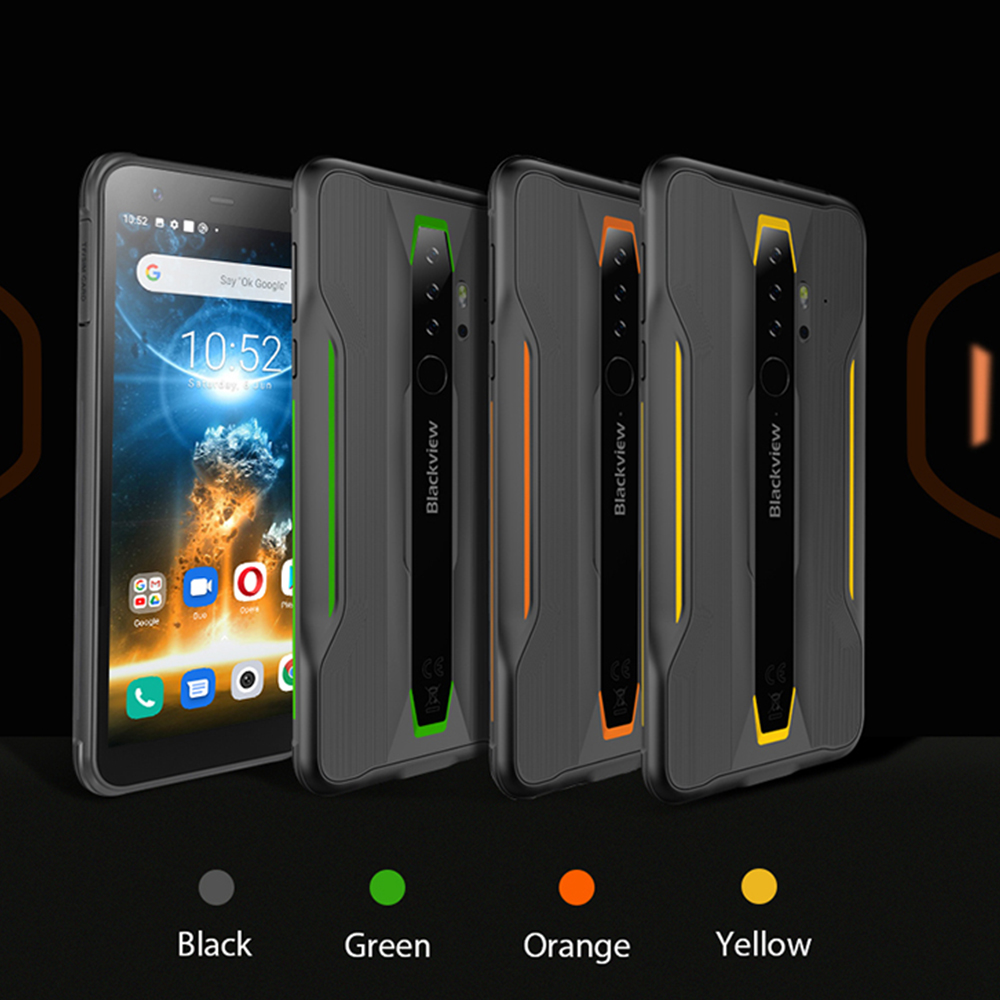 Blackview BV6300 Pro 5.7 Inch Android 10 Mobile Phone IP68 Rugged Waterproof Smartphone Helio P70 6GB+128GB Octa Core Cellphone