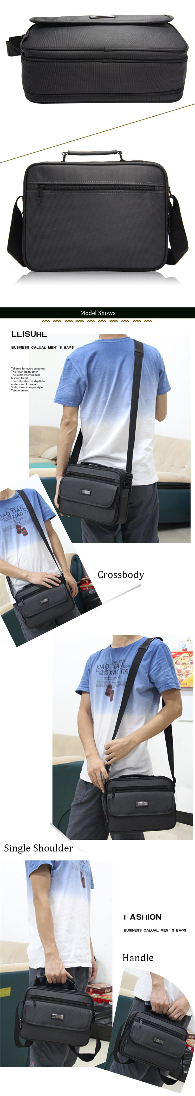 Hc1354fcc5f1c471a948f2fc9840c89a69 - New Briefcases Of Sizes Men's Laptop Bag Top Quality Waterproof Men bags Business Package Shoulder Bag masculina briefcase