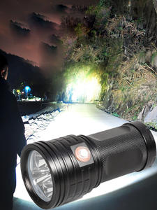 Torch-Use Battery Super-Bright-Flashlight Waterproof 3--Xhp90 4--18650 Usb Rechargeable