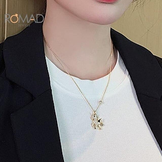 Купить romad индивидуальное простое ожерелье с кулоном в виде животного