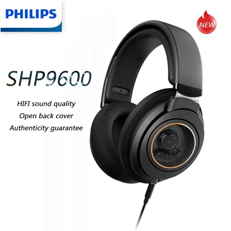 Philips SHP9600 музыкальные наушники с 3 м, Длинные Проводные HIFI игровые наушники SHP9500, обновление для компьютера, Android, Samsung, Huawei
