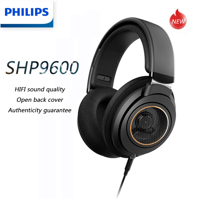 Philips SHP9600  Music Earphone with 3m Long Wired HIFI Gaming Headphones  SHP9500 upgrade for Computer Android Samsung Huawei