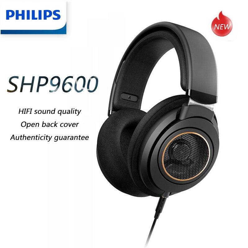 Philips shp9600 música fone de ouvido com 3m longo com fio fones de ouvido jogos alta fidelidade shp9500 atualização para computador android samsung huawei
