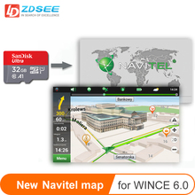 Car GPS map micro SD cards 32GB for Navitel windows ce 6.0 or Android system New Map free update Europe/Russia/spain/middle east