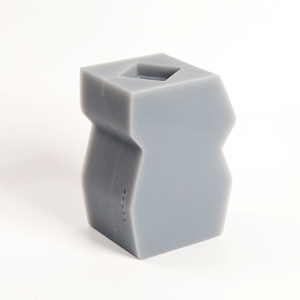 Image 3 - Neue Silikon Beton Form für Skulptur Blume Topf Machen Form Nordic Original Ornamente