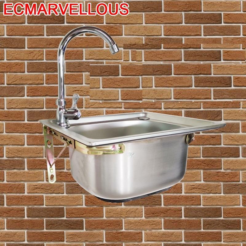 Lavello Cucina Portatil Faucet Inoxidable Lava Manos Spoelbak Fregadero De Cocina Lavabo Cuba Pia Cozinha Kitchen Sink