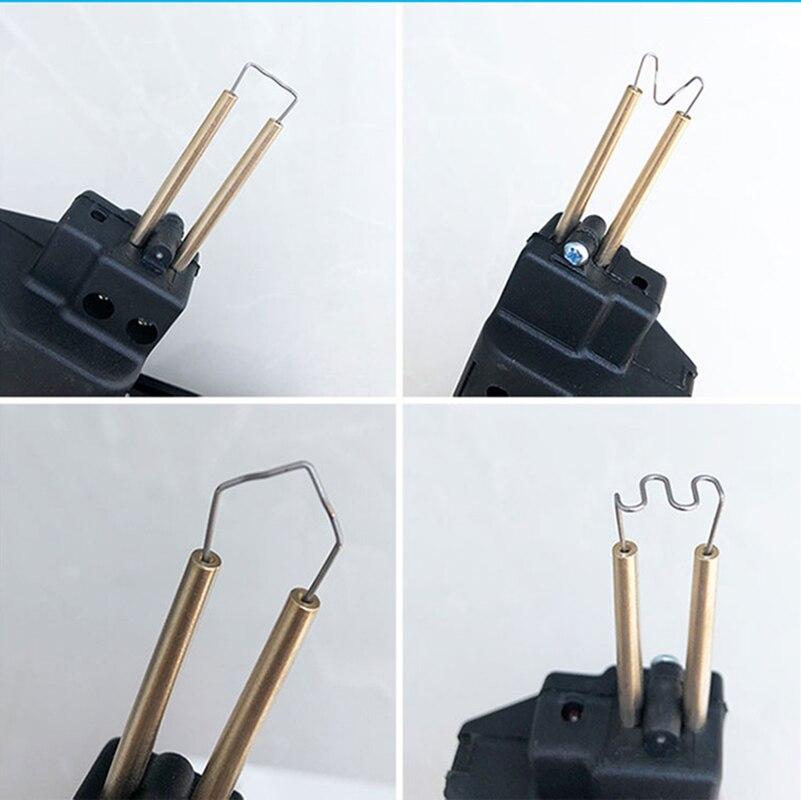 Tools : New 220-250V Hot Stapler Car Bumper Plastic Welding Torch Fairing  0 6 0 8mm 200 Staples Auto Body Tool Welder Machine for tools