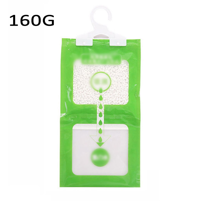 Hanging Bag Moisture Absorbent Dry Desiccant For Dehumidifiers Closet Bathroom
