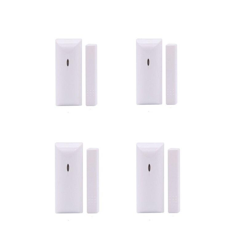 4PCS Each Lot MD-210R  Door Window Sensor Door Detector Alarm With Low Battery Alert Compatible With Focus Alarm System