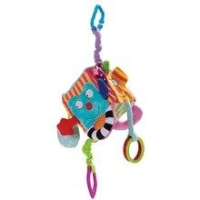 Детские игрушки, передвижная плюшевая мультяшная кровать, погремушки, колокольчик, Детская Подвеска на коляску кроватку, прорезыватели для зубов
