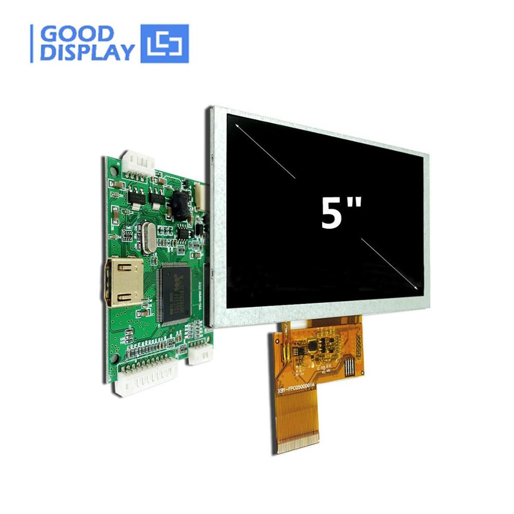 5 Inch Color Tft Lcd Module Display With Small HDMI Signal Board