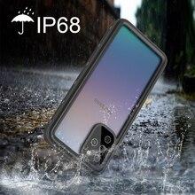 IP68 水サムスン S20 超 S20 プラスリアル防水ケースフル保護カバー電話ケース銀河 S20