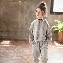 2019 baby girl clothes for kids clothes girls autumn clothing set tops+pants children 2pieces sport suit child outfits new 2016 autumn childrens clothing sets kids girls korean clothes set child star sports suits big girl tops pants 2 suit piece