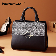 NEVEROUT Fashion Handbags Women Split Leather Brand Design Stone Theme Bag Top-Handle Shoulder Bags High Quality Tote Handbag butterfly fish top quality promoting genuine leather women handbag customized 2017 lady fashion bag tote handbags