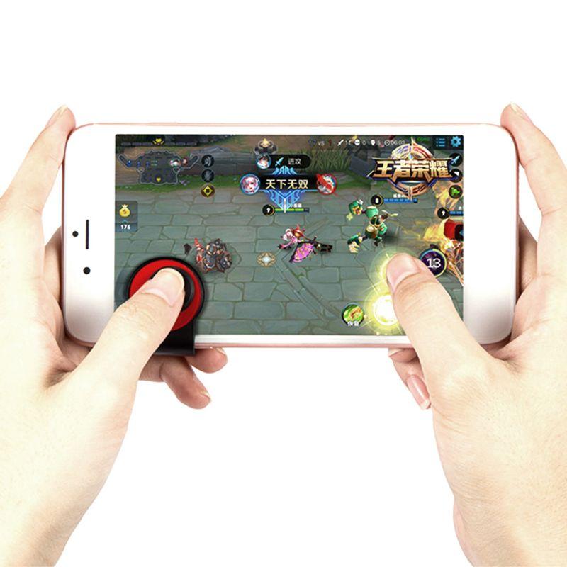 Durable Game Joystick Mobile Phone Rocker Joypad Tablet Game Controller Plastic Phonegame Accessories for Gaming Lovers 95AF