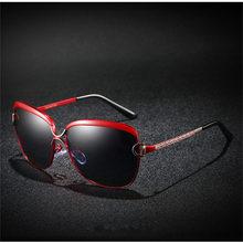 Xiasent Womens Polarized Sunglasses Trendy Classic Large Frame Glasses Driving Mirror Fishing UV400 Gafas