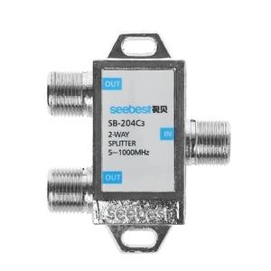 Image 5 - 2 Way HD Digitale Splitter Connettore TV Satellitare Ricevitore Progettato Per SATV/CATV X6HB