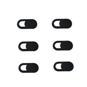 1 3 6 sztuk Web osłona migawki suwak magnetyczny plastikowa kamera pokrywa dla IPhone PC laptopy obiektyw telefonu komórkowego prywatność Sticke 2020New tanie i dobre opinie ACEHE Shutter Sticker Phone Lens Privacy Sticke Magnet Slider Sticker Mobile Phone Camera Lens Privacy Sticker Universal Len Sticker