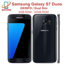 Samsung galaxy s7 duos g930fd duplo sim versão global octa núcleo 5.1