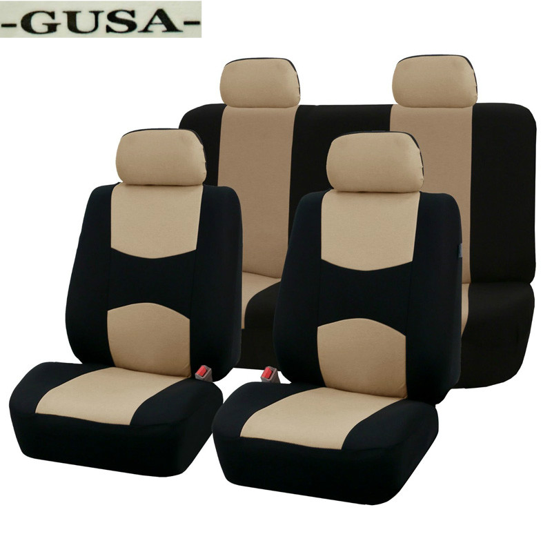 FMtoppeak Interior Accessories Car Armrest Cushion Pad Guard Cover for Nissan Rogue X-Trail 2014-2020 Beige