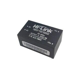 Image 3 - شحن مجاني HLK 5M03 220 فولت إلى 3.3 فولت 5 واط الترا المدمجة وحدة الطاقة الذكية المنزلية التبديل التيار المتناوب تيار مستمر محول