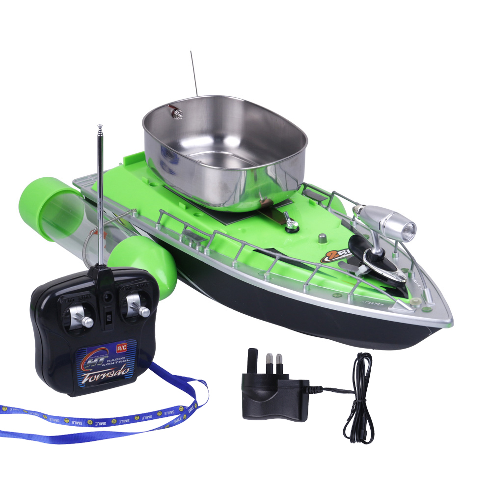 Electric Wireless Rc Fishing Boat Fish Finder Ship Remote Control Bait Boats Rc Lure Boat Speedboat With EU US UK Charger