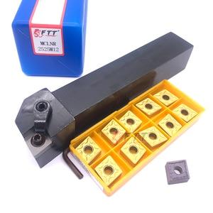 Image 3 - 1 piezas MCLNR2525M12 CNC herramienta de torneado de herramientas de plaquitas intercambiables MCLNR externa de corte de torno h