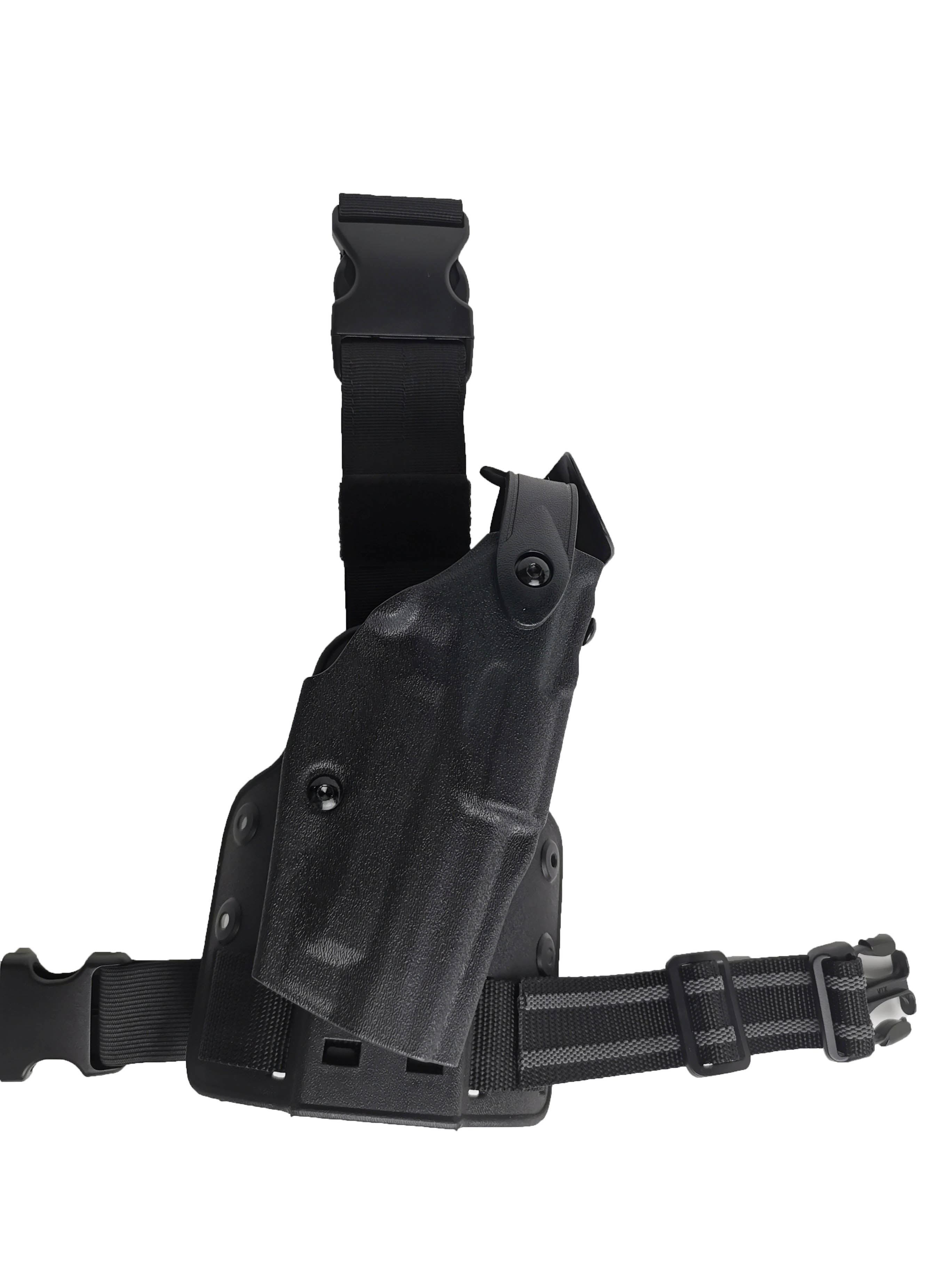 Adjustable Tactical Universal Drop Leg Platform Holster W//Quick Release Straps