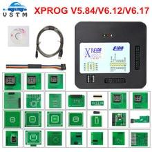 2020 XPROG V6.12 6.17 dodaj nowe upoważnienie V5.84 X-PROG M metalowe pudełko XPROG-M narzędzie programujące ECU X Prog M V6.12 V6.17 pełna