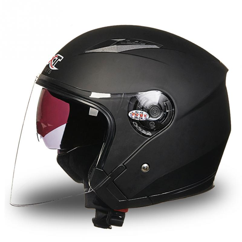 Professional Unisex Motorcycle Helmet Full Face Anti-UV Electric Bicycle Helmet Visor