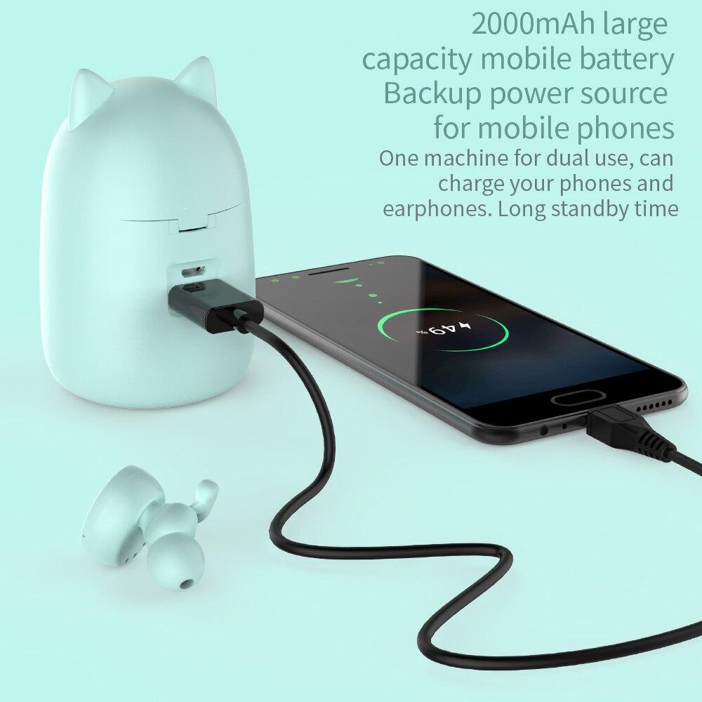Kawaii Kitten Wireless Earphone Bluetooth 5.0 Headset 2