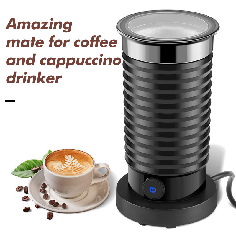 HiBREW  3 Function Electric Milk Frother Milk Steamer Creamer Milk Heater With New Foam Density For Latte Cappuccino Hot Chocola