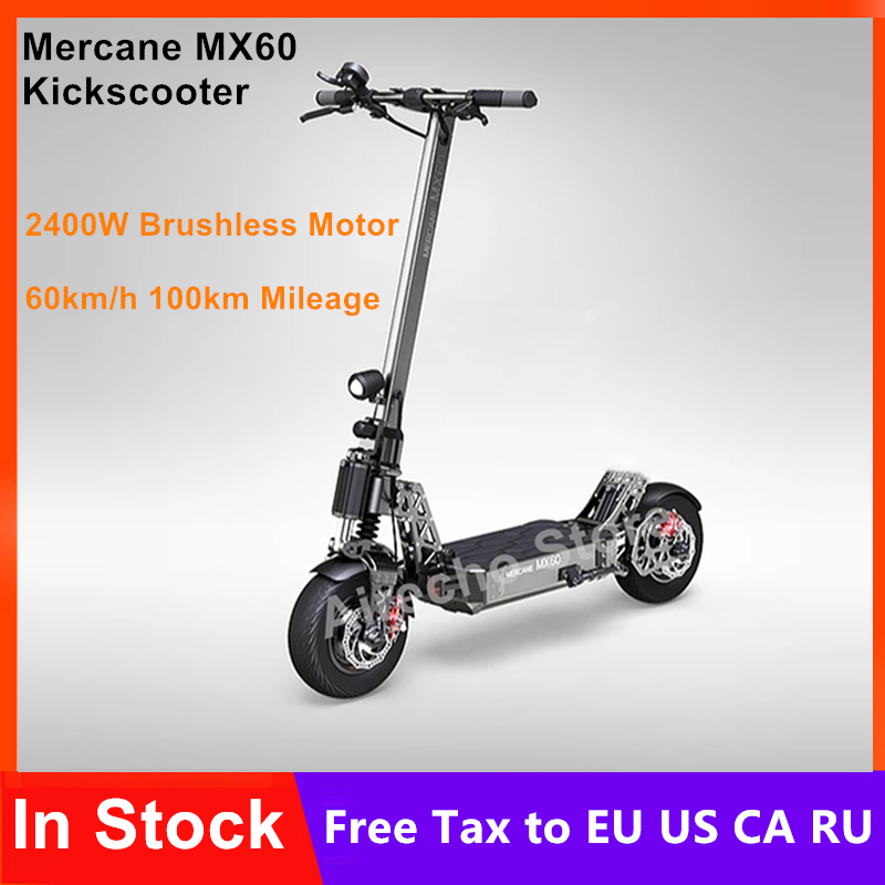 2019 New <font><b>Mercane</b></font> <font><b>MX60</b></font> Smart Electric Scooter 2400W 60km/h 100km Range 11