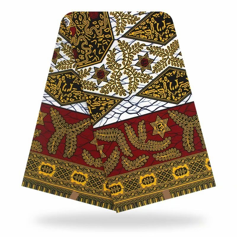 African Ankara Fabric New Arrival African Wax Print Fabric 2020 African Fabric Cotton Material For Dress 6yards
