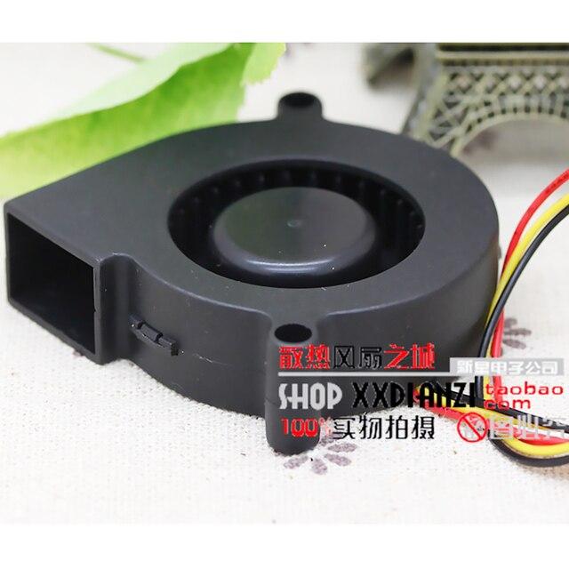 3D drukarki dmuchawy oryginalny nowy dla Sunon 5015 12V zawieszenie magnetyczne wyciszenie dmuchawy GB1205PHV1-8AY 5cm pomiar prędkości turbofan